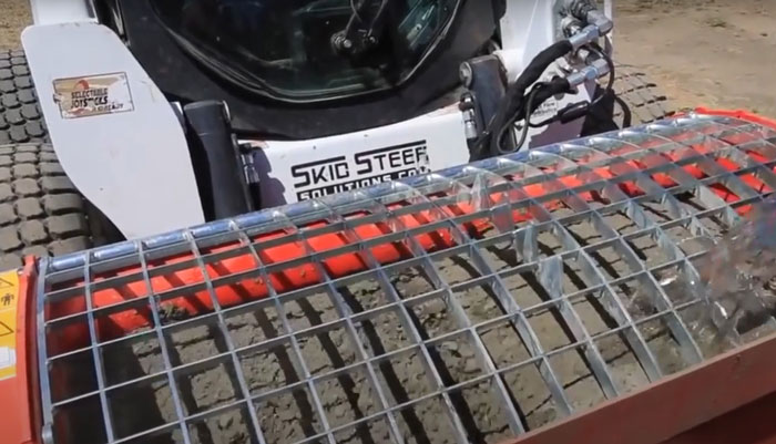 бетономешалка на базе мини-погрузчика